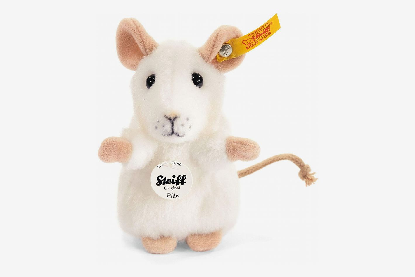 Steiff Pilla White Mouse
