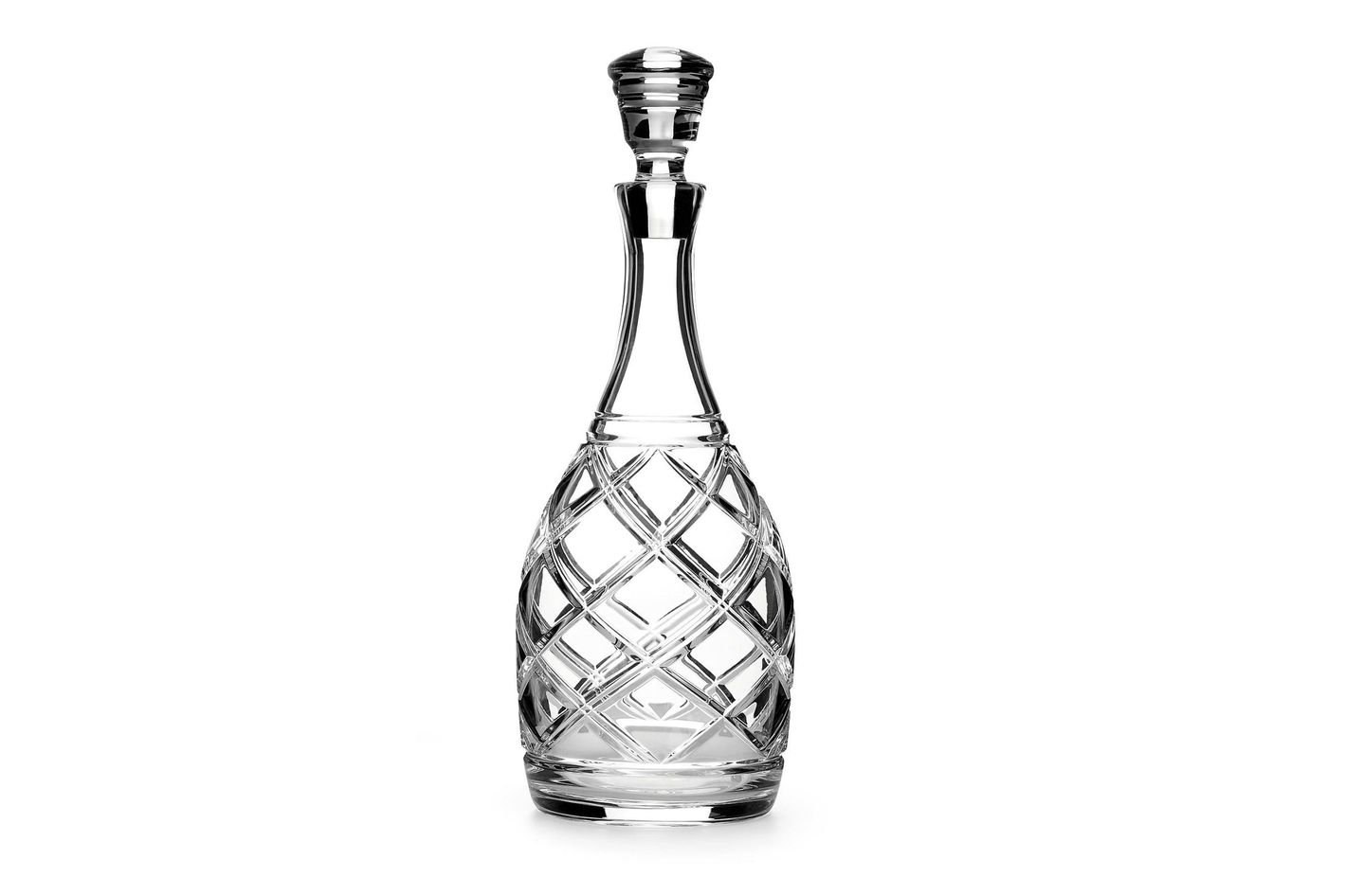 Ralph Lauren Home Brogan Crystal Decanter
