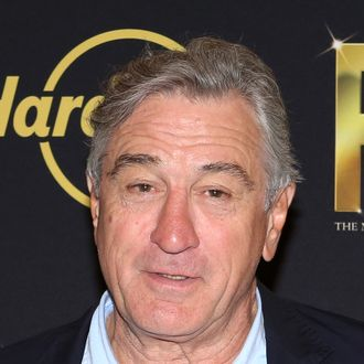 NEW YORK, NY - SEPTEMBER 23: Robert De Niro attends the 'We Will Rock You' North America Tour Rehearsals at The New 42nd Street Studios on September 23, 2013 in New York City. (Photo by Walter McBride/Getty Images)