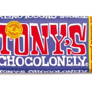 Tony's Chocolonely Milk Chocolate Pretzel Toffee 42%