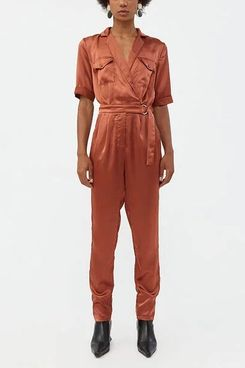 Stelen Tia Short Sleeve Jumpsuit