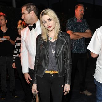 LOS ANGELES, CA - MAY 02: Frances Bean Cobain attends Kohn Gallery Grand Opening And Inaugural Exhibition: Mark Ryden: Gay Nineties West on May 2, 2014 in Los Angeles, California. (Photo by Stefanie Keenan/Getty Images for Kohn Gallery)
