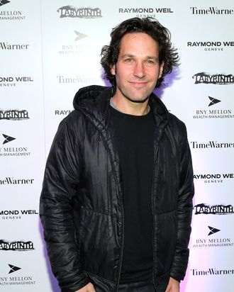 Paul Rudd attends LAByrinth Theater Company Celebrity Charades 2013 Benefit Gala at Capitale on January 14, 2013 in New York City.