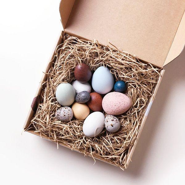 Merci Milo's Dozen Bird Eggs in Boxed Set