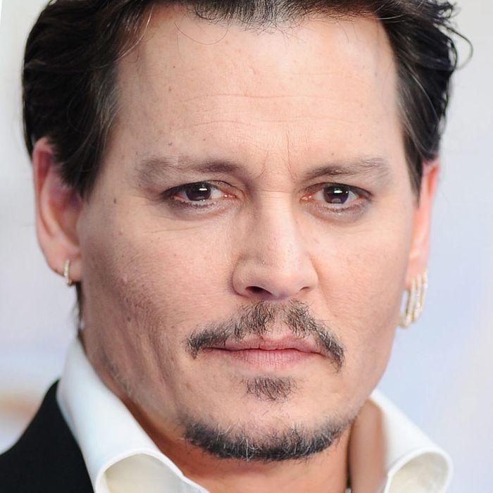Bob Iger, Johnny Depp.