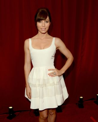 Actress Jessica Biel during the 2012 ESPY Awards at Nokia Theatre L.A. Live on July 11, 2012 in Los Angeles, California.