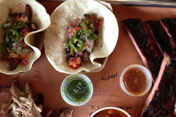 In addition to burnt ends galore, Fletcher's in Gowanus now has tacos.