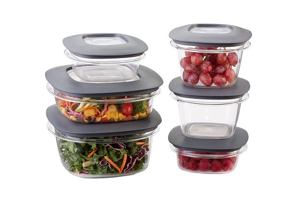 Rubbermaid Premier Food-Storage Containers, 12-Piece Set