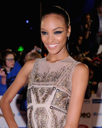 Jourdan Dunn attends the MOBO Awards 2011 at the SECC on October 5, 2011 in Glasgow, Scotland.