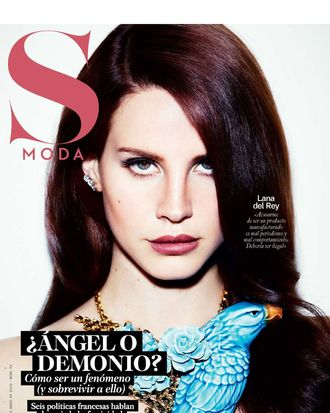 Lana Del Rey for <em>S Moda</em>.