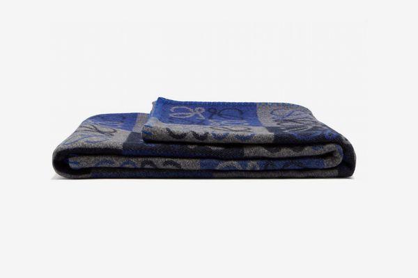 Loewe Anagram Wool-blend Blanket