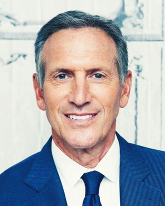 Howard Schultz.