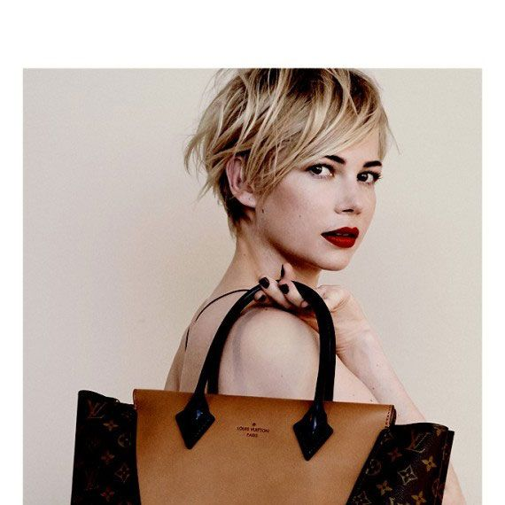 3c3b90f0f7 Michelle Williams Is Stunning in New Vuitton Ads