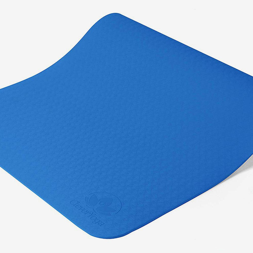 LODDD Yoga Mat Classic Pro Yoga Mat TPE Eco Friendly Non Slip Fitness Exercise Mat Yoga Mat Premium Extra Thick Non Slip Exercise Fitness Mat Yoga Pilates Mat