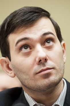 The now-cursed Martin Shkreli.