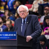 Bernie Sanders Holds Campaign Rally In Binghamton, NY