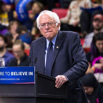 Bernie Sanders Holds Campaign Rally In Binghamton, NY