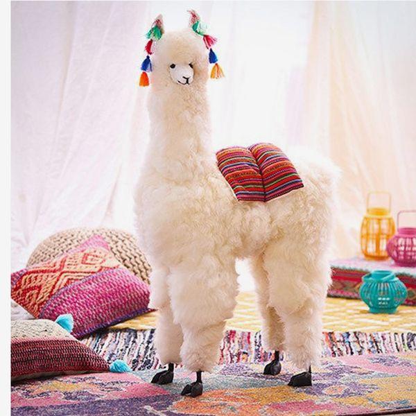 JRtesoros Handmade Big Alpaca Toy (40 inches)