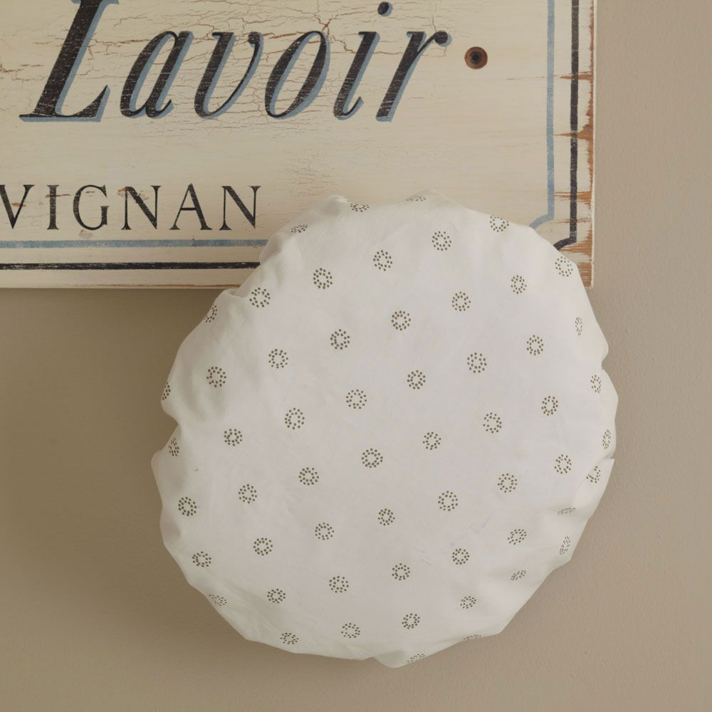 Taylor Linens Ditsy Dot Shower Cap