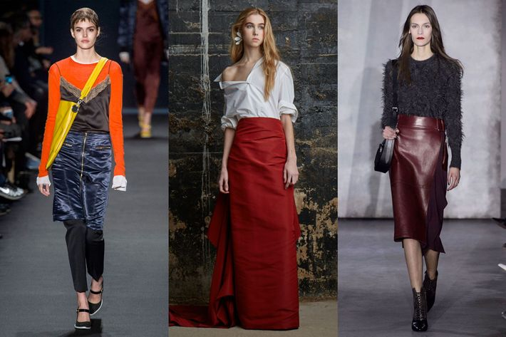 Looks from Rag & Bone, Rosie Assoulin, and 3.1 Phillip Lim.