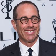 Jerry Seinfeld arrives at 55th Annual CLIO Awards at Cipriani Wall Street on October 1, 2014 in New York City.