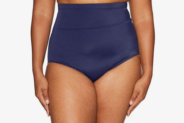 Coastal Blue Plus Size Bikini Bottom