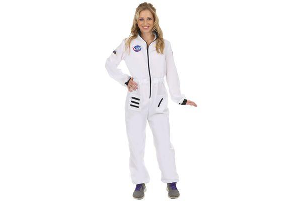 Orion Costumes Women's Astronaut Spacewoman Space NASA Fancy Dress Costume White
