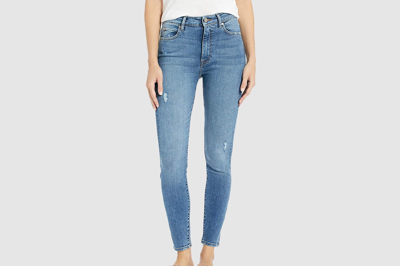 The Drop Women's Fairfax High Rise Ankle Skinny Jean