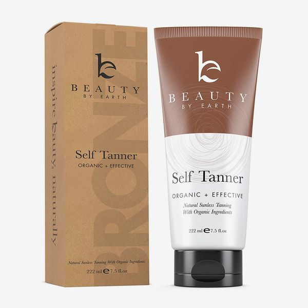 Beauty by Earth Sunless Tanning Lotion for Face and Body