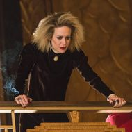 "AMERICAN HORROR STORY -- ""She Gets Revenge"" Episode 510 (Airs Wednesday, December 16, 10:00 pm/ep) Pictured: Sarah Paulson as Sally. CR: Prashant Gupta/FX"