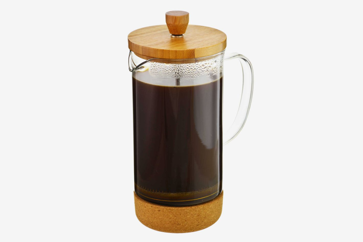 Grosche Melbourne 8-Cup Bamboo and Cork French Press