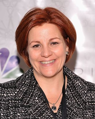 NEW YORK, NY - NOVEMBER 30: New York City Council Speaker Christine Quinn attends Rockefeller Center Christmas Tree Lighting Party at Rock Center Cafe on November 30, 2011 in New York City. (Photo by Gary Gershoff/Getty Images for NBC)
