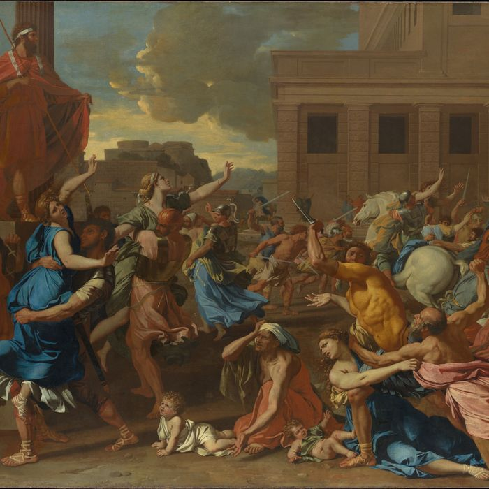 The Abduction of the Sabine Women, Nicolas Poussin.