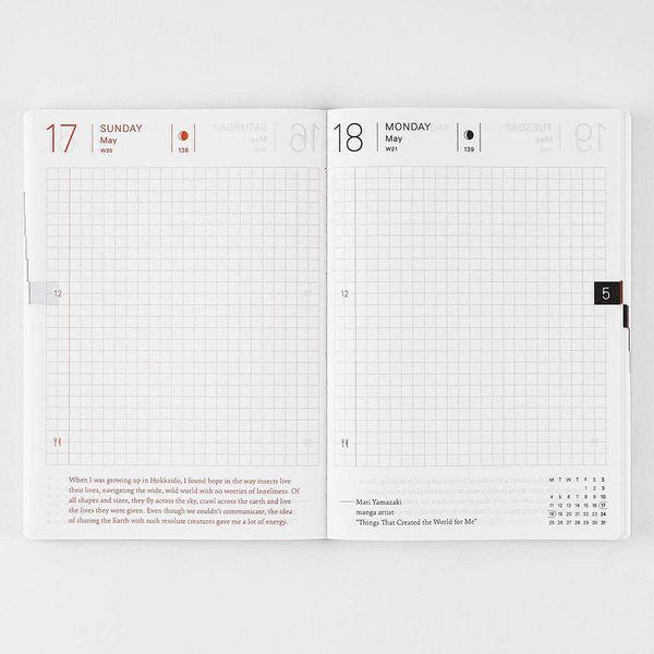 Hobonichi Techo Planner Book A6 Size