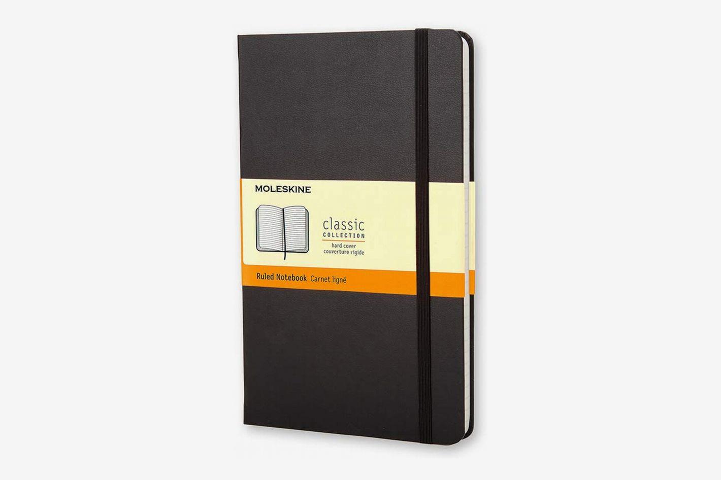 Moleskine Classic Notebook, Hard Cover