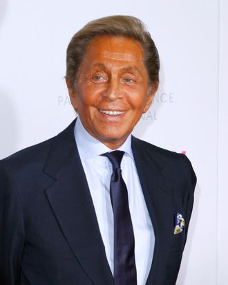 Valentino attends The Weinstein Company & The Cinema Society With QVC & Palladium premiere of