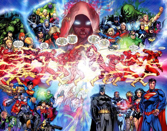 1a0686468ce The universes collide as Flash runs across. Photo  DC Entertainment