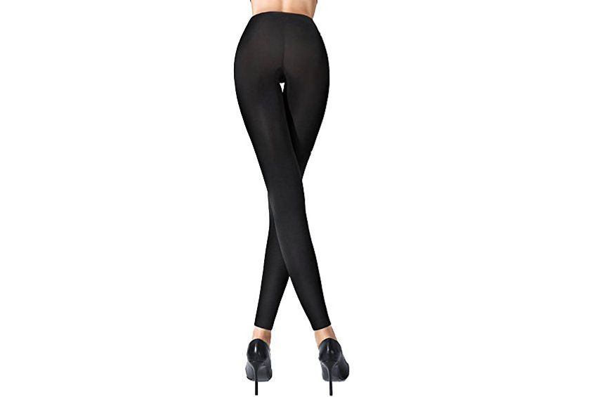 Wolford Women's Velvet 100 Leg Support Footless Tights