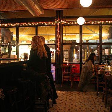 The original Luca Lounge.
