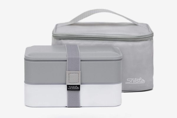 Bento Lunch Box Set with Insulating Bag