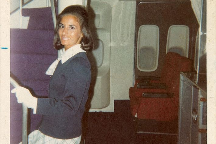 Paula frequently worked in TWA's Ambassador Class.