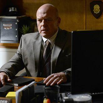 Hank Schrader (Dean Norris) - Breaking Bad _ Season 5, Episode 10 - Photo Credit: Ursula Coyote/AMC