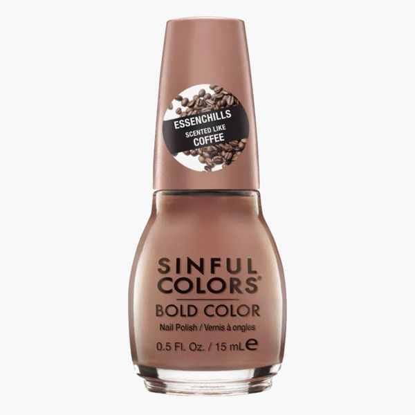 SinfulColors Essenchills Professional Nail Polish in Coffee Drip