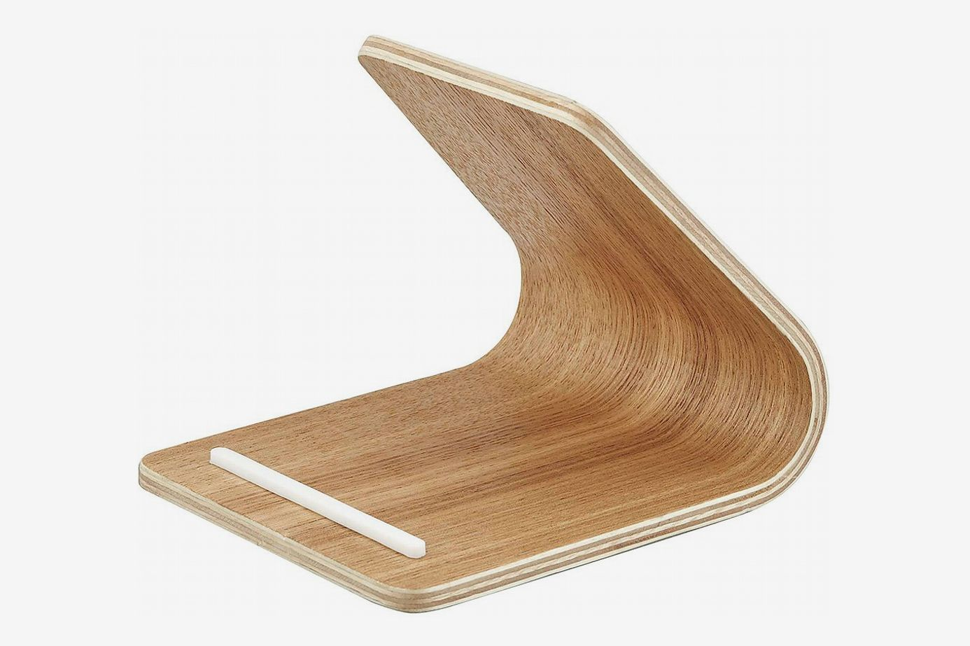 Yamazaki Home Rin Plywood Tablet Stand, Beige