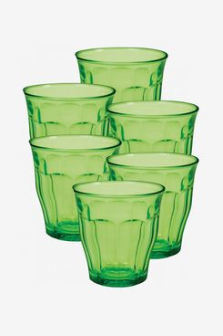 Duralex Picardie Set of 6 Tempered Glass French Tumblers