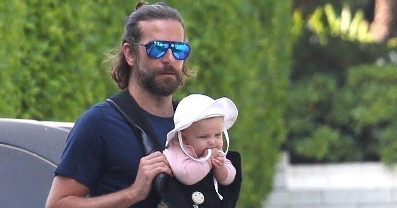 Bradley Cooper Seen With Newborn Baby Lea de Seine Bradley Cooper S Baby