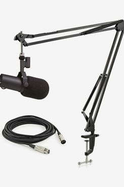 Shure SM7B Microphone with Heavy Duty Studio Arm and Cable
