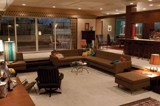 How to design a set mad men and scandal vulture for Interno case americane