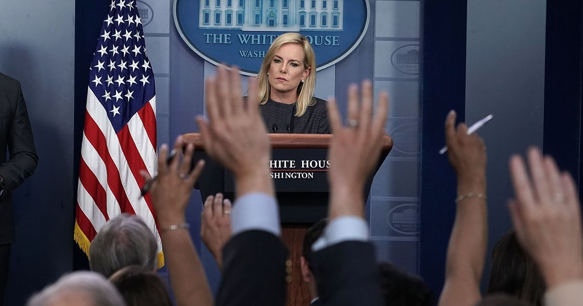 Inside the Disastrous White House Briefing on Trump's Child-Separation Policy