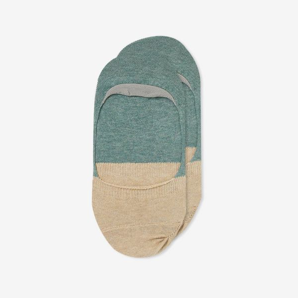 Anonymous Ism Organic Cotton 2-Tone No Show Socks